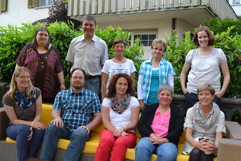 Viele Jubilare der Schule Escholzmatt-Marbach ...