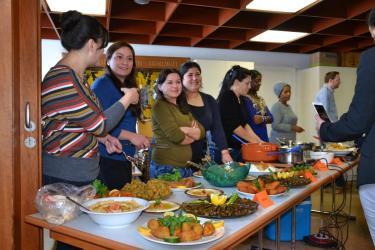 Weltweit essen   eine kulinarische Begegnung